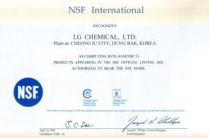 Сертификат HI-MACS