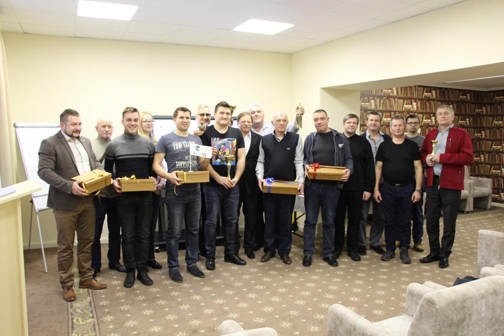 Награждение участников семинара